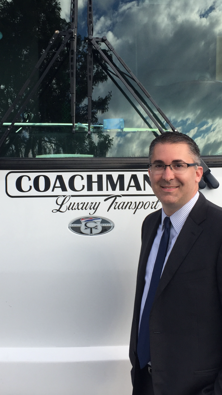 Coachman Luxury Transport bus